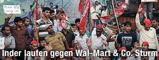 Demonstranten in Indien