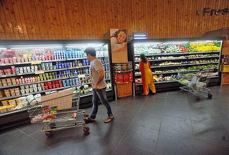 Indischer Supermarkt