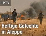 Gefechte in Aleppo