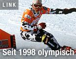 Snowboarder Martin Freinadametz bei Olympia 1998