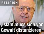 Der Erzbischof von Freiburg, Robert Zollitsch