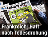 """Titelseite der Satirezeitung """"Charlie Hebdo"""""""
