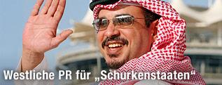 Bahrains Kronprinz Salman bin Hamad Al-Khalifa