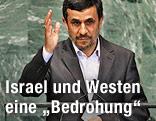 Der iranische Präsident Ahmadinedschad