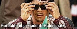 Ehemaliger libyscher Machthaber Muammar al-Gaddafi