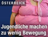 Stark übergewichtiges Mädchen