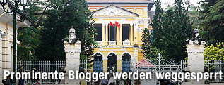 Gerichtsgebäude in Saigon