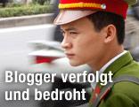 Polizist in Vietnam