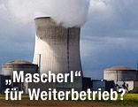 Atomkraftwerk Cattenom in Frankreich