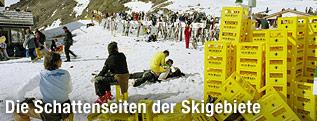 """""""Saisonabschluss-Event, Idalp, Ischgl , April 2004"""" von Lois Hechenblaikner"""