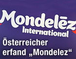 Mondelez-Schriftzug