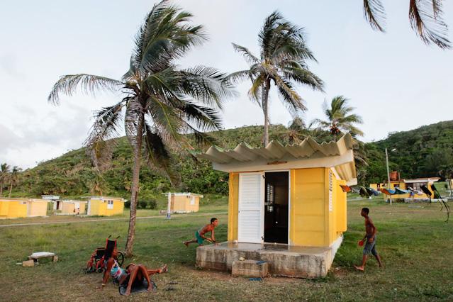 Strandhütte in Kuba