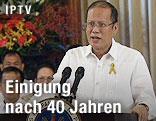 Der philippinische Präsident Benigno Aquino