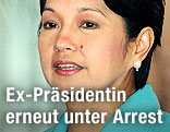 Ex-Präsidentin der Philippinen, Gloria Macapagal-Arroyo