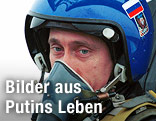 Wladimir Putin im Kampfjet