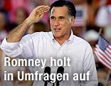 Der republikanische US-Präsidentschaftskandidat Mitt Romney bei einer Wahlkampfveranstaltung in St. Petersburg, Florida