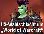 "Rollenspiel-Charakter der US-Politikerin Colleen Lachowicz in ""World of Warcraft"""