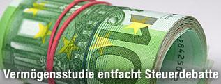 Rolle von Euro-Scheinen
