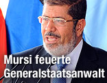 Der ägyptische Präsident Mohammed Mursi