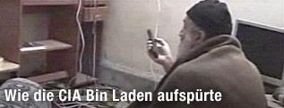 Osama bin Laden in einer Videoaufzeichnung
