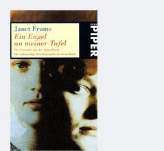 """Buchcover """"Ein Engel an meiner Tafel"""" von Janet Frame"""