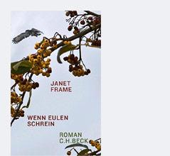 """Buchcover """"Wenn Eulen schrein"""" von Janet Frame"""