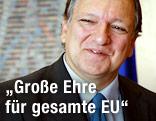 Präsident der Europäischen Kommission Jose Manuel Barroso