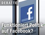 Screenshot der Facebook-Site