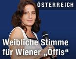 Neue Stimme der Wiener Öffis Angela Schneider