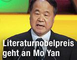 Der chinesische Schriftsteller Mo Yan
