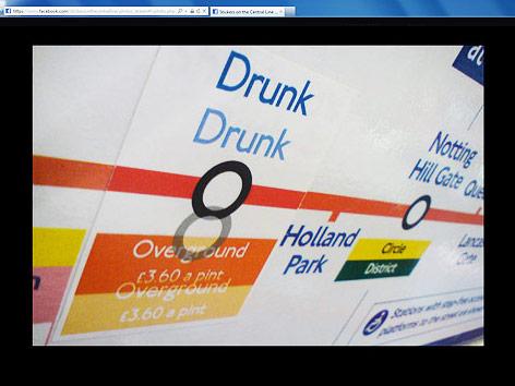 Screenshot zeigt Bild von einem U-Bahn-Sticker
