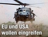Hubschrauber der US-Armee