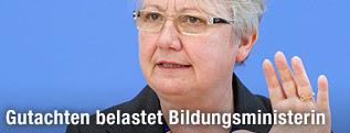 Deutsche Bildungsministerin Annette Schavan