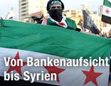Demonstrant in Syrien