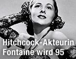 Schauspielerin Joan Fontaine in den 40er-Jahren