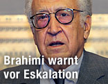 Lakhdar Brahimi, Sondergesandter der Vereinten Nationen und der Arabischen Liga für Syrien