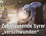 Syrische Frauen bei der Feldarbeit