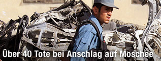 Afghanischer Polizist