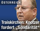 Bürgermeister von Traiskirchen Fritz Knotzer