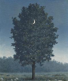 """Ölgemälde von Rene Magritte """"Le seize septembre"""", 1956"""