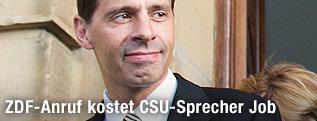 CSU-Sprecher Hans Michael Strepp