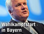 Bayerischer Ministerpräsident Horst Seehofer