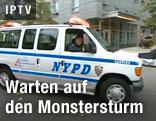 Polizei in New York bei Evakuierung