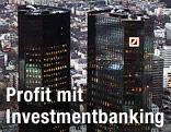 Turm der Deutschen Bank in Frankfurt