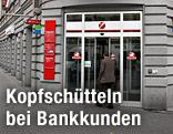Filiale der Bank Austria