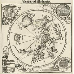 Dürers Darstellung des Südhimmels aus dem Jahr 1515