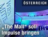 Innenansicht der Shoppingmall Wien Mitte