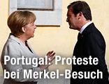 Angela Merkel und Pedro Passos Coelho