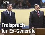 Ante Gotovina und Mladen Markac