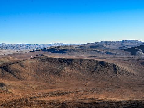 Die Atacama-Wüste im Norden von Chile